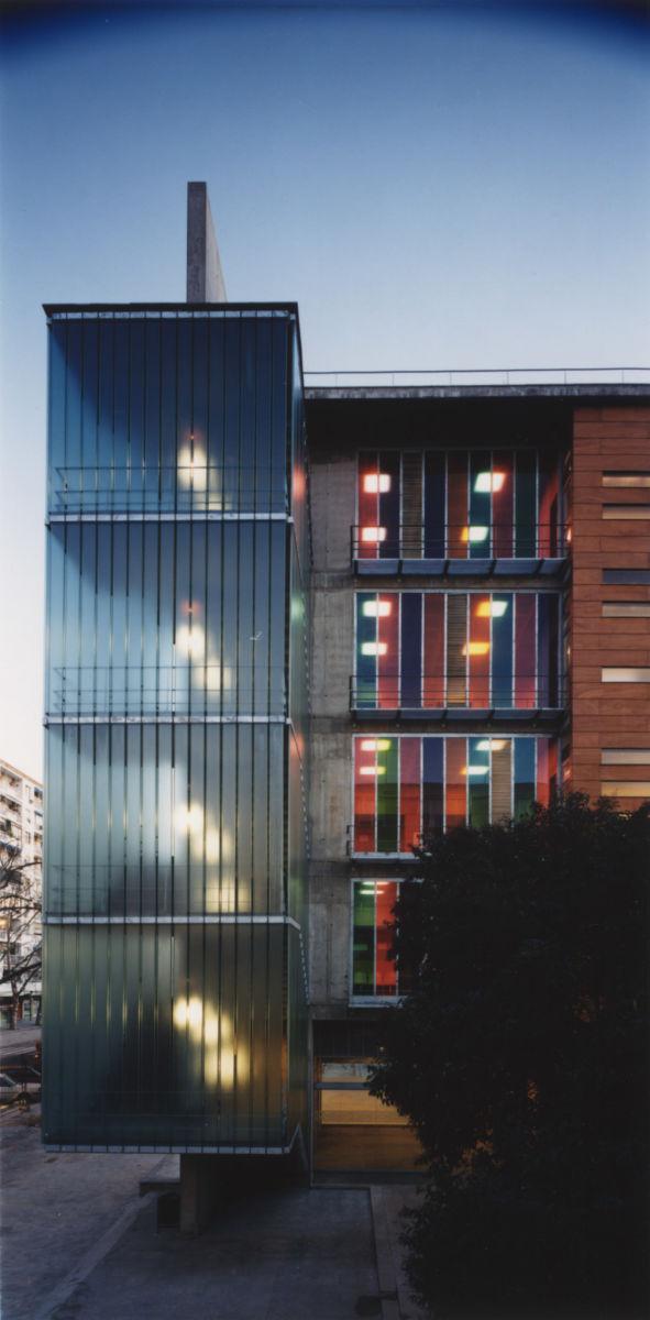 Alt q arquitectura aulario etsa euat de la universidad de sevilla sevilla 1er premio - Arquitectura tecnica sevilla ...